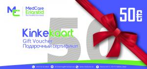 Kinkekaart MedCare Eriarstid Tallinn Erakliinik